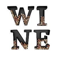 "Настенная надпись ""WINE"" для пробок"