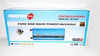 Инвертор преобразователь напряжения Power Inverter Powerone 1500W с чистой синусоидой AC/DC 12v, фото 5