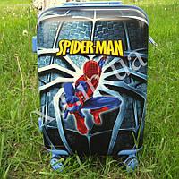 "Детский чемодан 20"" на 4 колесах Spider-man"