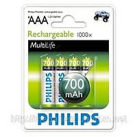 Аккумулятор мизинчик Philips AAA 700