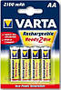 Аккумулятор пальчиковый Varta AA 2100 Ready 2 Use
