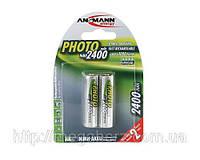 Аккумулятор пальчиковый AA Ansmann Photo 2400 mAh