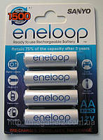 4шт аккумулятор пальчиковый Sanyo Eneloop AA 2000