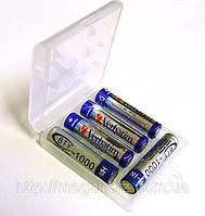 Футляр кейс коробочка для аккумуляторов AA