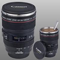 Термо чашка в виде объектива Canon EF 24-105mm, фото 1