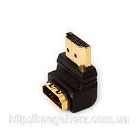 Переходник HDMI на HDMI угловой 90°