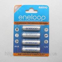Аккумулятор мизинчиковый Sanyo Eneloop AAA 800 4шт