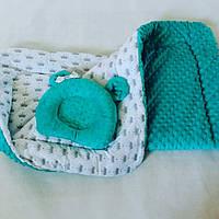 Плед + ортопедическая подушка