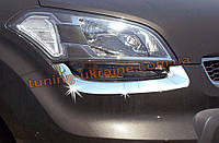 Накладки на фары Omsa на Kia Soul 2009-2013