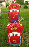 "Детский набор Тачки : чемодан 18"" на колесах + рюкзак"