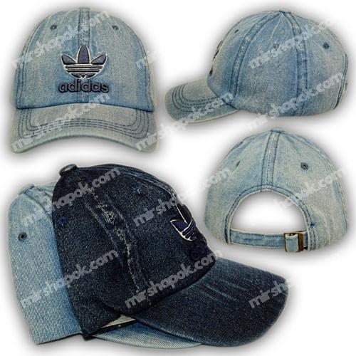 Джинсовая кепка на мальчика Adidas, р. 54, N 068