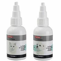 Капли Karlie-Flamingo Petcare Ear Cleaner для чистки ушей кошек, 50 мл