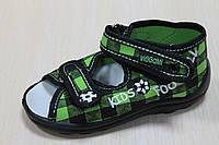 Открытые тапочки на мальчика ViGGaMi Вигами, польская обувь р.19,20,21,26