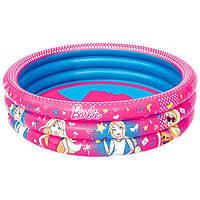 Детский надувной бассейн Bestway Барби