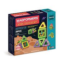 Магнитный конструктор Magformers Космические путешествия, 35 элемента