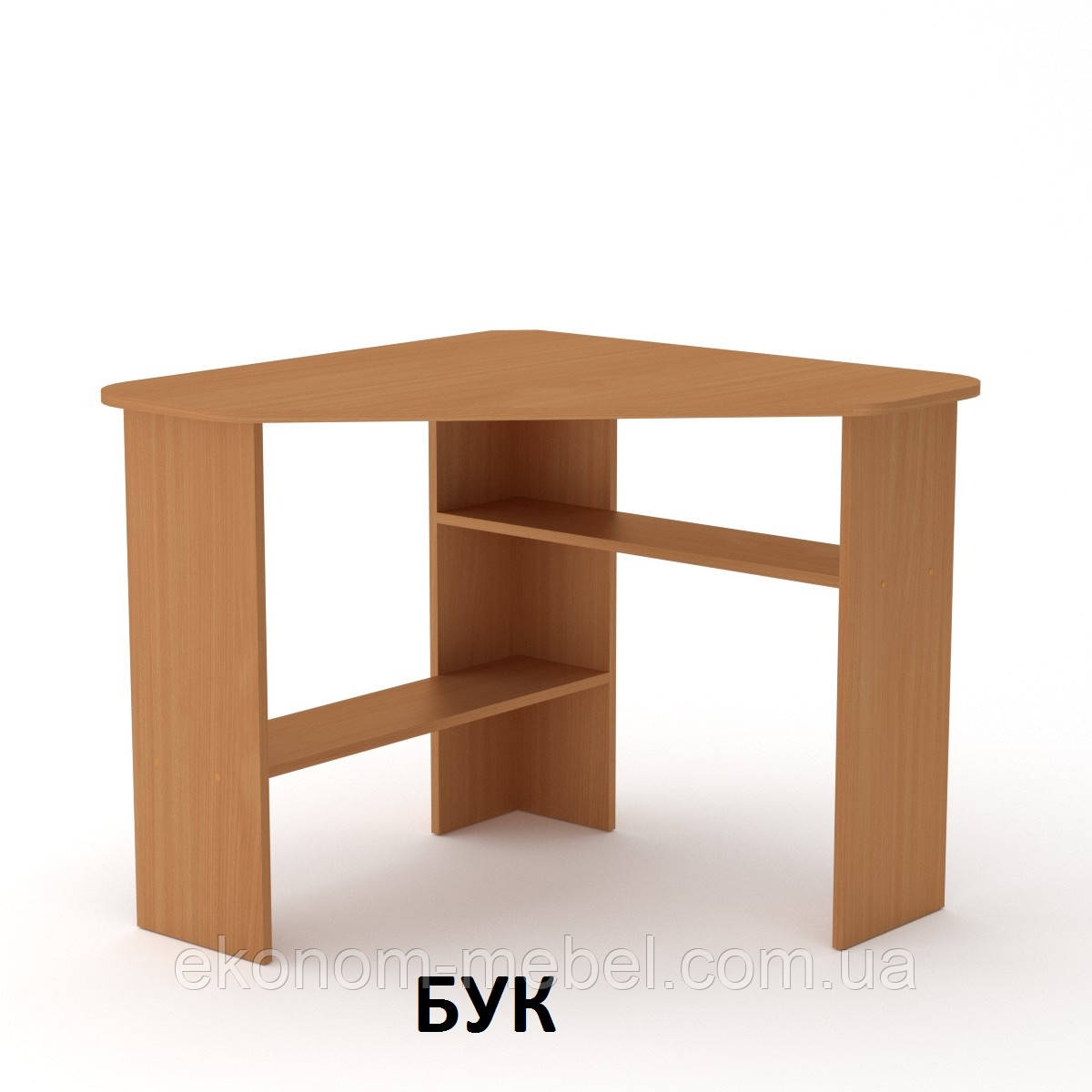 Стол письменный угловой Ученик-2 для ребенка, подростка, в офис, под ноутбук