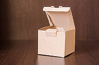 Картонная коробка, самосборная, бурая 10х10х9 см (от 50шт)