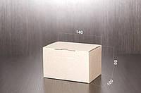 Картонная коробка, самосборная, бурая 14х10х9 см (от 50шт)