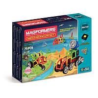 Магнитный конструктор Magformers Кругосветное путешествие, 75 элементов