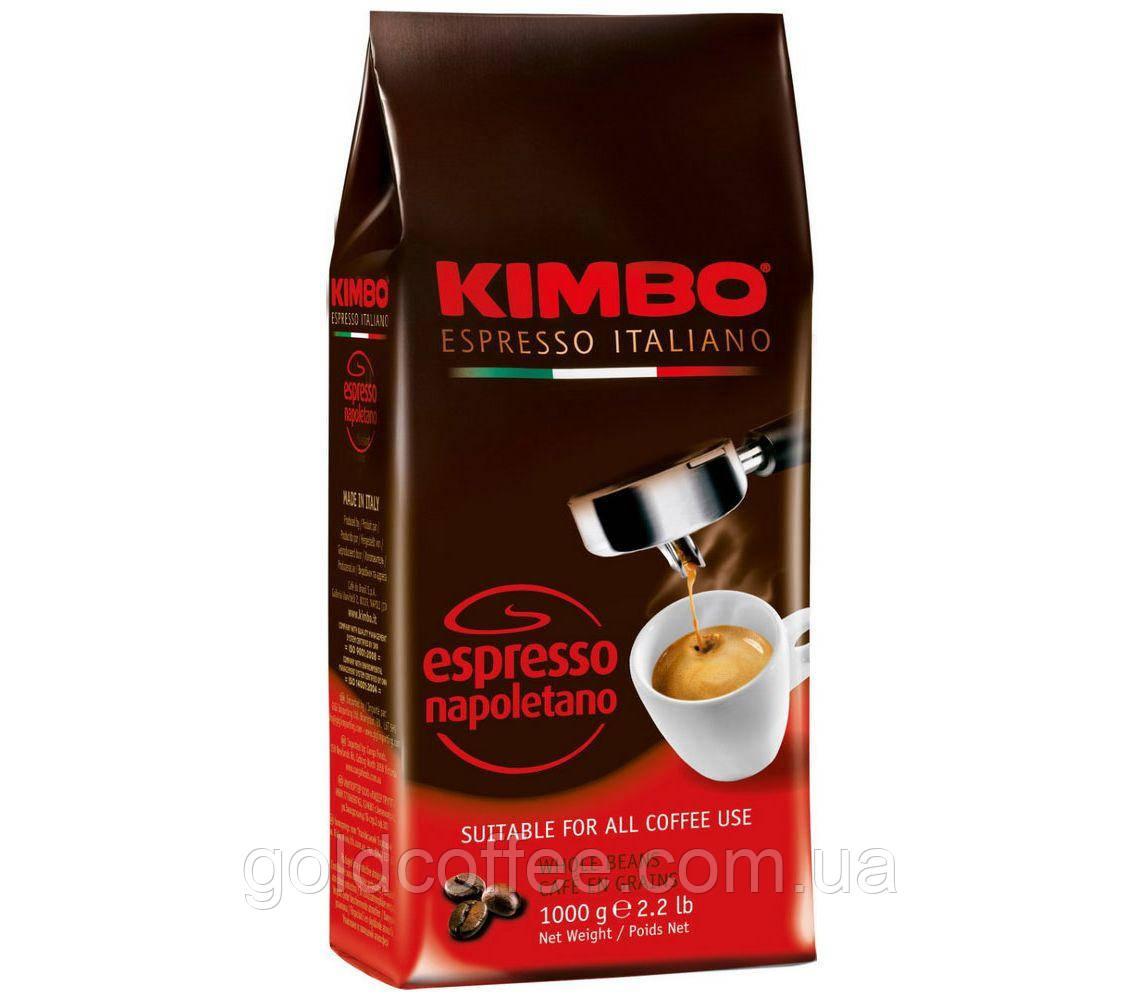 Кава в зернах Kimbo Espresso Napoletano 1000г