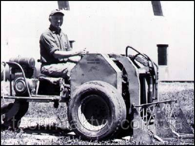 Первый самоходный легковесный погрузчик братьев Келлер