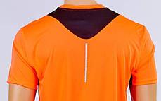 Футбольная форма Variation CO-1011-OR (PL, р-р M-XXL, коралловый-черный, шорты коралловые), фото 3