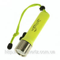 Подводный фонарь для дайвинга фонарик Yellow