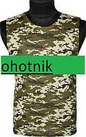 Майка 100% хлопок р.48. Цвет Украинский пиксель.