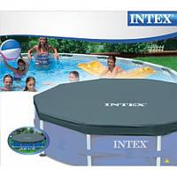 Intex 28031 тент на каркасный бассейн диаметром 366см