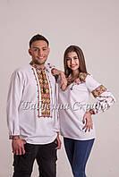 Заготовка чоловічої сорочки для вишивки нитками/бісером БС-112ч, фото 1