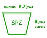 Ремни клиновые узкопрофильные SPZ(Y0)