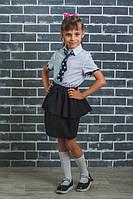 Блуза школьная белая