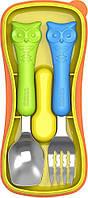 Детские приборы в пенале