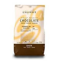 "Шоколад-кувертюр черный ""Callebaut Powerful"" 80 % какао, каллеты 2.5 кг"