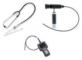 Стетоскоп, ендоскоп, видеобороскоп