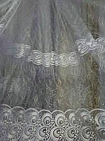 Тюль Морис фатин бермуда белая (Турция) Осталось 6.8 м.