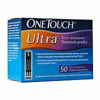 Тест-полоски OneTouch Ultra 50 штук
