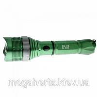 Тактический фонарик Police 2000w с линзой BL-8372