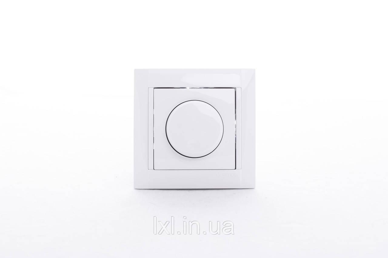 Светорегулятор 500 Вт. Simon 34 белый