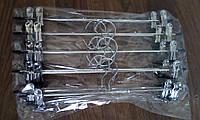 Тремпель для брюк с прищепками, размер 35 см, Производитель Китай