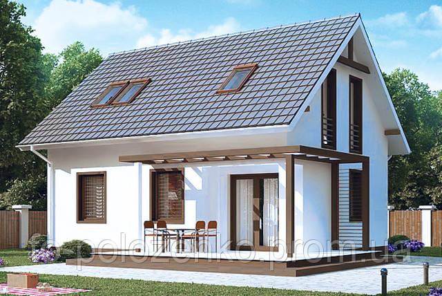 Акция от нашего партнера ЕвроСтройКомплекс - Дом с мансардой 129,2 кв.м. за 25900 у.е.
