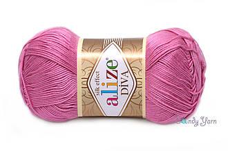 Alize Diva , Ярко розовый №178