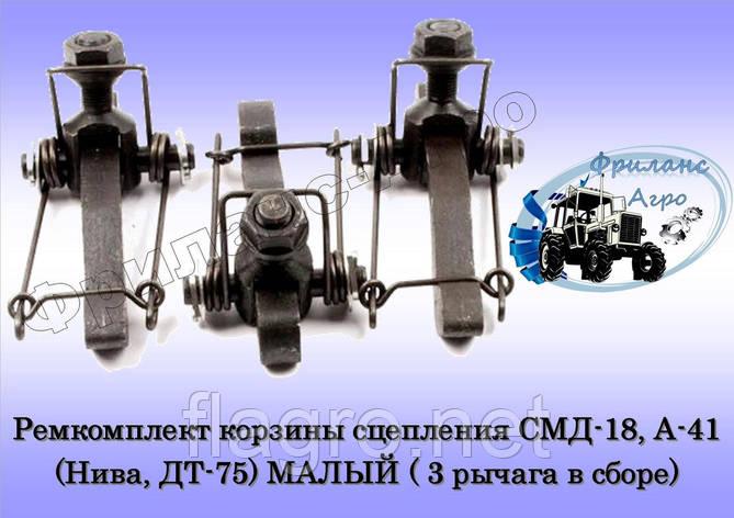 Ремкомплект корзины сцепления СМД-18, А-41 (Нива, ДТ-75) МАЛЫЙ, фото 2
