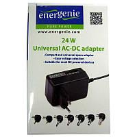 Адаптер питания EnerGenie EG-MC-009 (3,0V-12V; 0,8A;24W max)
