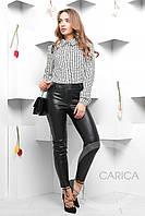 Женкая блузка в мелкую клетку Carica 7390