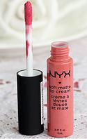 Помада жидкая NYX soft matte Lip Cream № 5