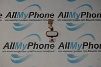 Шлейф для мобильного телефона Meizu M3s mini кнопки меню золотой