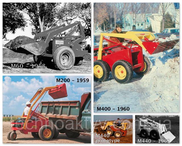 Дальнейшая эволюция универсального погрузчика Bobcat от M60 до M440