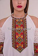 Заготовка жіночої сорочки для вишивки нитками/бісером БС-122, фото 1