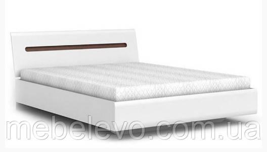 Кровать Ацтека LOZ160 с подъемным механизмом БРВ 860х1650х2140мм белый глянец + венге магия - фото 1